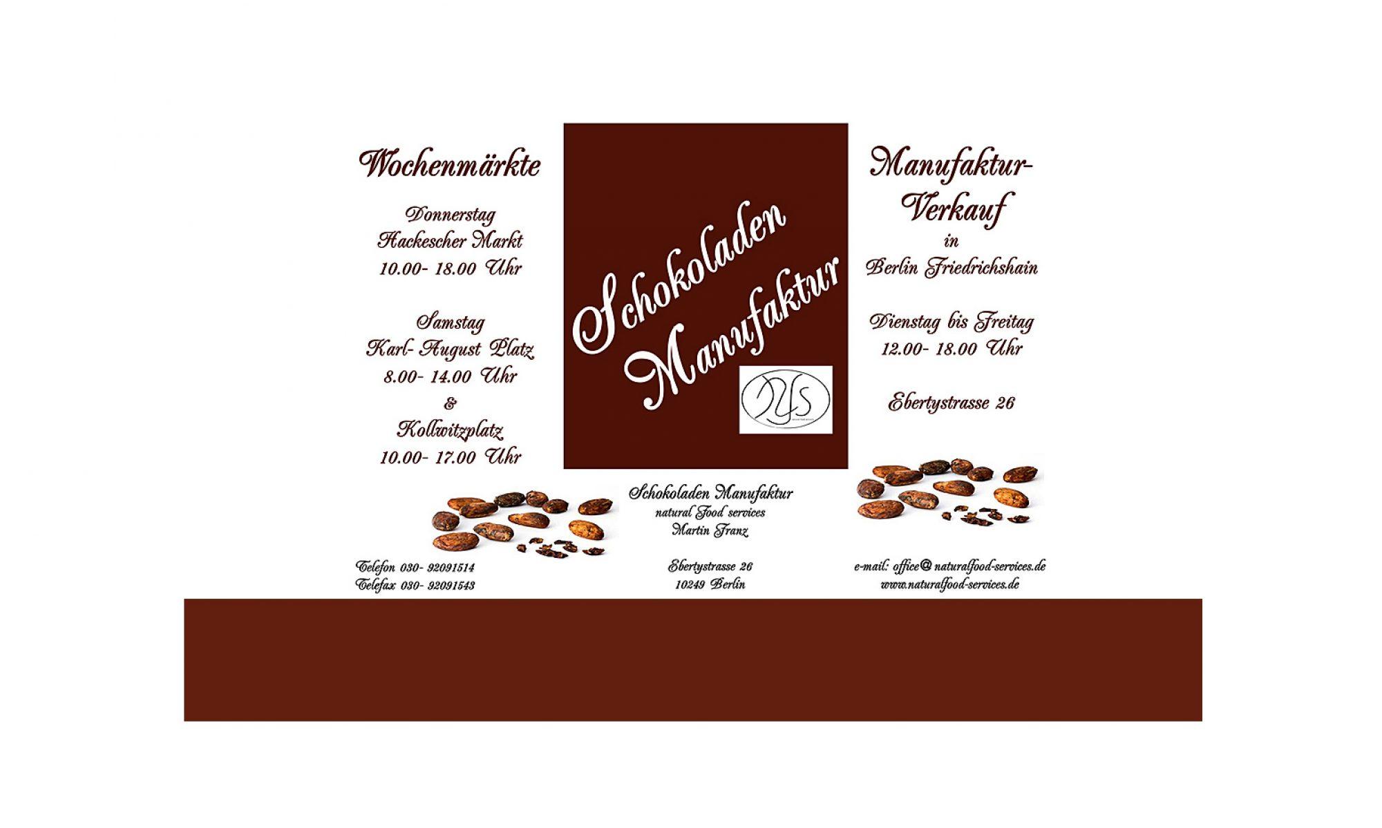 Schokoladenmanufaktur Franz