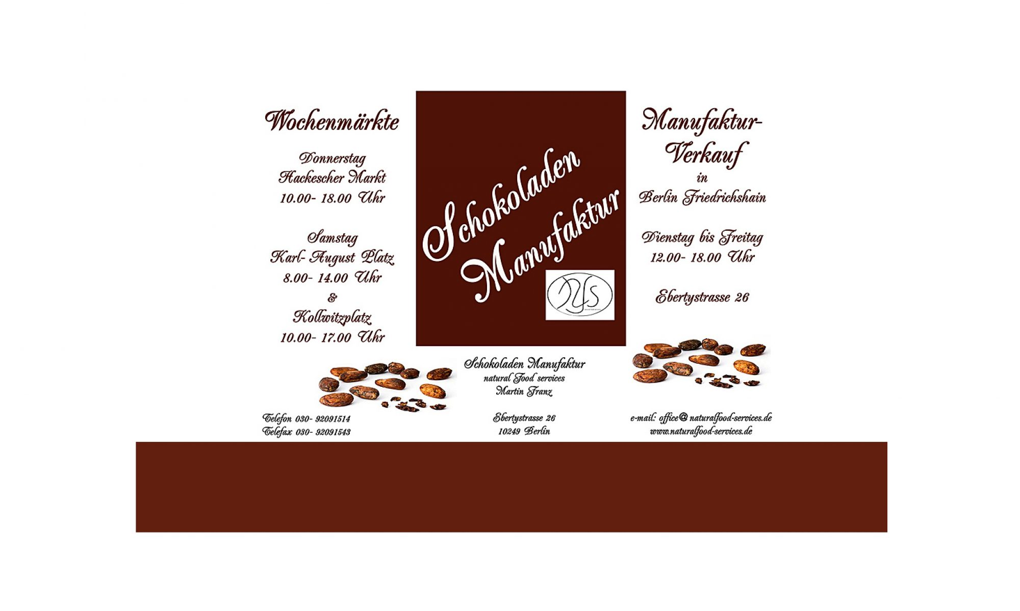 Schokoladen Manufaktur
